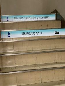四日市市役所の階段です